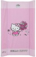 Пеленальный матрас Maltex мягкий 50х80 см  hello kitty, розовый. 34511