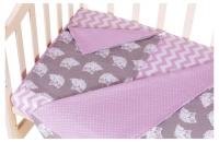 Сменный комплект Babyroom SB-003  розовый (горох). 34694