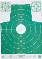 Мишень Алебарда бумажная № 4М ц: зеленый. 34130200