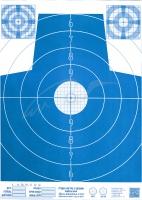 Мишень Алебарда бумажная № 4М ц: синий. 34130216