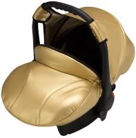 Автокресло детское Bair Carlo кожа 100% CP-38 золотой перламутр. 30920