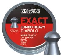 Пули пневматические (для воздушки) 5,5мм 1,175г (500шт) JSB Jumbo Heavy. 14530535
