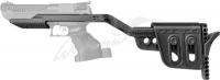 Приклад телескопический Zoraki для пистолета HP-01. 36800057