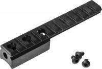 Планка АК 2000 для винтовки Мосина. Профиль - Weaver/Picatinny. Длина - 12,9 см. Материал - сталь. 36810056