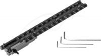 Планка АК 2000 для СКС. Профиль - Weaver/Picatinny. Длина - 17 см. Материал - сталь. 36810058