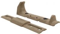 Упор Magpul M-LOK Hand Stop Kit передний на цевье песочный. 36830167