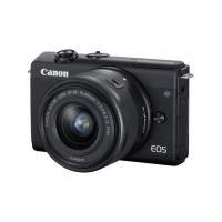 Цифровой фотоаппарат Canon EOS M200 + 15-45 IS STM Black (3699C027). 47414