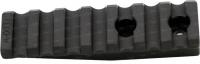 Планка Spuhr A-0032 для моноблоков и колец Spuhr. 7 слотов. Длина - 75 мм. Высота - 14 мм. Профиль - Picatinny. 37280006