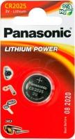 Батарея Panasonic CR 2025 BLI 1 LITHIUM. 39920005