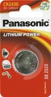 Батарея Panasonic CR 2430 BLI 1 LITHIUM. 39920014
