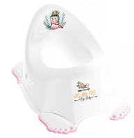 Горшок Tega Wild & Free Unicorn DZ-001 нескользящая 103 white-pink. 33356
