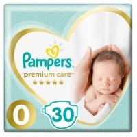 Подгузник Pampers Premium Care Micro Размер 0 (<3 кг) 30 шт (4015400536857). 47917