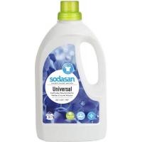 Гель для стирки Sodasan Universal Bright&White 1.5 л (4019886015615). 45735