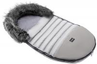 Зимний детский конверт Bair Polar premium  серый - серая кожа. 31354