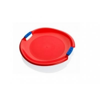 Санки Plastkon ледянка Tornado Super красные (42530) Pattern . 48568