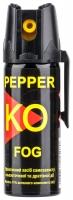 Газовый баллончик Klever Pepper KO Fog аэрозольный. Объем - 50 мл. 4290031