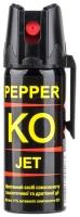 Газовый баллончик Klever Pepper KO Jet струйный. Объем - 50 мл. 4290032