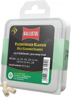 Патч для чистки Ballistol войлочный классический для кал. 22. 60шт/уп. 4290077
