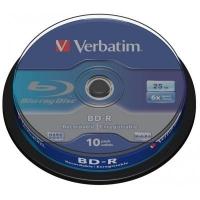 Диск BD Verbatim 25Gb 6x Cacke 10шт (43742). 46416
