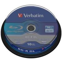 Диск BD Verbatim DL 50Gb 6x Cacke 10шт (43746). 46412