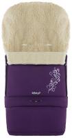 Зимний конверт Babyroom №20 с удлинением  фиолетовый с узором. 33484