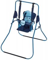 Качель детская домашняя напольная Babyroom Casper  т.синий-голубой. 30951
