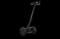 """Гироскутер с ручкой для детей и взрослых Monorim M1Robot Ninebot mini 10,5"""" (Music Edition) - Hand Drive Black (Черный). 31165"""
