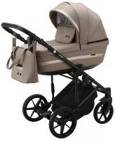 Детская коляска 2 в 1 с люлькой и прогулочная для новорожденных трансформер Adamex Rimini Tip RI-90. 31102