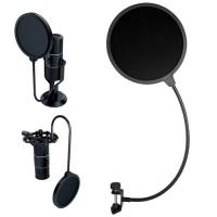 Поп-фильтр для микрофона, звукозаписи F&D 155 мм. 45638