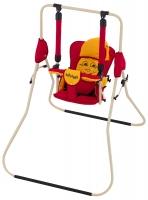 Качель детская домашняя напольная Babyroom Casper  красный-оранжевый. 30935