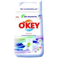 Стиральный порошок O'KEY Universal 6 кг (4820049381801). 48536
