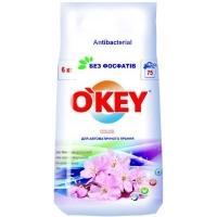 Стиральный порошок O'KEY Цветочный букет, 6 кг (4820049381818). 48537