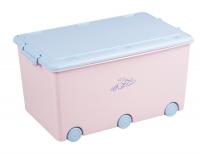 Ящик для игрушек Tega Little Bunnies KR-010 104 light pink. 34871