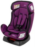 Автокресло Bair Sigma 0+/1/2 (0-25 кг) DS1824 черный - фиолетовый. 32907
