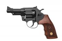 Револьвер под патрон Флобера Alfa mod. 431 ворон/дерево. 14310056