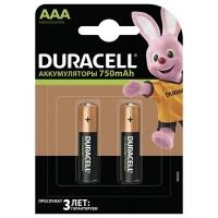 Аккумулятор Duracell AAA HR03 750mAh * 2 (5000394038769 / 81472315). 44643
