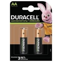 Аккумулятор Duracell AA HR6 1300mAh * 2 (5000394039186 / 81367175). 44641