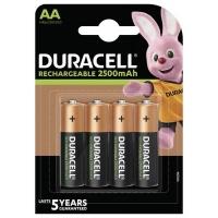Аккумулятор Duracell AA HR6 2500mAh * 4 (5000394057203 / 5007308). 44642