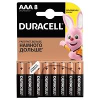 Батарейка Duracell AAA MN2400 LR03 * 8 (5000394203341 / 81480364). 47379