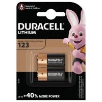 Батарейка Duracell CR 123 / DL 123 * 2 (5002979). 45819