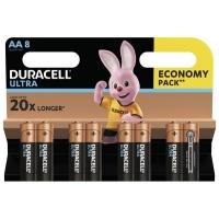 Батарейка Duracell AA Ultra Power LR6 * 8 (5004807). 45692