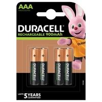 Аккумулятор Duracell AAA HR03 900mAh * 4 (5005015). 44644