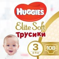 Подгузник Huggies Elite Soft Pants M размер 3 (6-11 кг) Box 108 шт (5029053547091). 47965