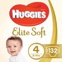 Подгузник Huggies Elite Soft 4 (8-14 кг) 132 шт (5029054566220). 47957