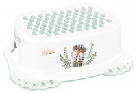 Подставка Tega Wild & Free Little Fox DZ-006 нескользящая 103 white/green. 34639