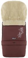 Зимний конверт Babyroom №20 с удлинением  шоколад с узором. 33490