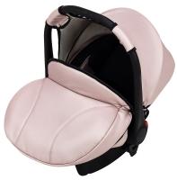 Автокресло детское Bair Carlo кожа 100% CP-02 розовый перламутр. 30916