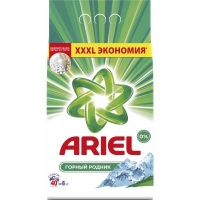 Стиральный порошок Ariel Горный Родник 6 кг (5413149836433). 48529