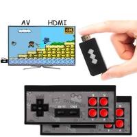 Игровая консоль беспроводная Data Frog HDMI Dendy NES 8бит 568игр Y2 HD. 44121