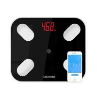 Смарт весы напольные Bluetooth Smart диагностические умные GASON S4, черные. 48732